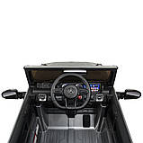 Дитячий електромобіль на акумуляторі Джип Mercedes M 4180 з пультом р/у для дітей 3-8 років автопокраска сірий, фото 3