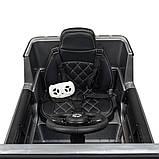 Дитячий електромобіль на акумуляторі Джип Mercedes M 4180 з пультом р/у для дітей 3-8 років автопокраска сірий, фото 8