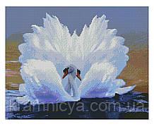 Алмазная мозаика Лебединая любовь, 40х50 Strateg (FA10031)