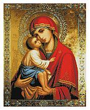 Алмазная мозаика Донская икона Божей Матери, 40х50 Strateg (FA10375)