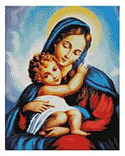 Алмазная мозаика Божья матерь, 40х50 Strateg (FA11142)