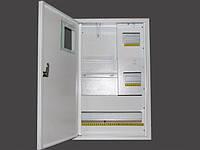 Шкаф под электронный  счетчик + 24 автоматов врезной