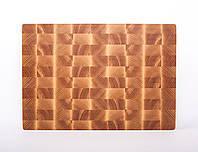 Кухонная торцевая разделочная доска LineWood 40х25х3,5 см из ясеня 0004