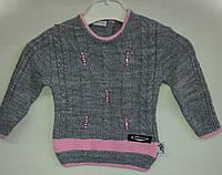 Вязанный свитер для девочки