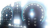 Шкалы приборов Opel Astra H в стиле OPC