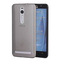 Чехол силиконовый ультратонкий Epik для Asus Zenfone 2 ze551ml ze550ml прозрачный черный