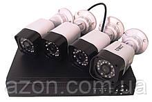 Комплект реєстратор DVR 4-канальний і 4 камери DVR CAD D001 KIT
