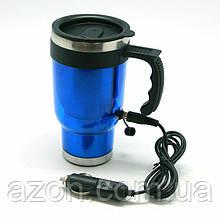 Кружка-чайник 12В 400мл (синяя)