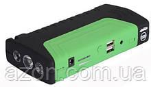 Пусковое устройство авто аккумулятора Jump Starter 6756 2000W, зеленое