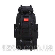 Рюкзак туристичний X0530, 80 л, чорний