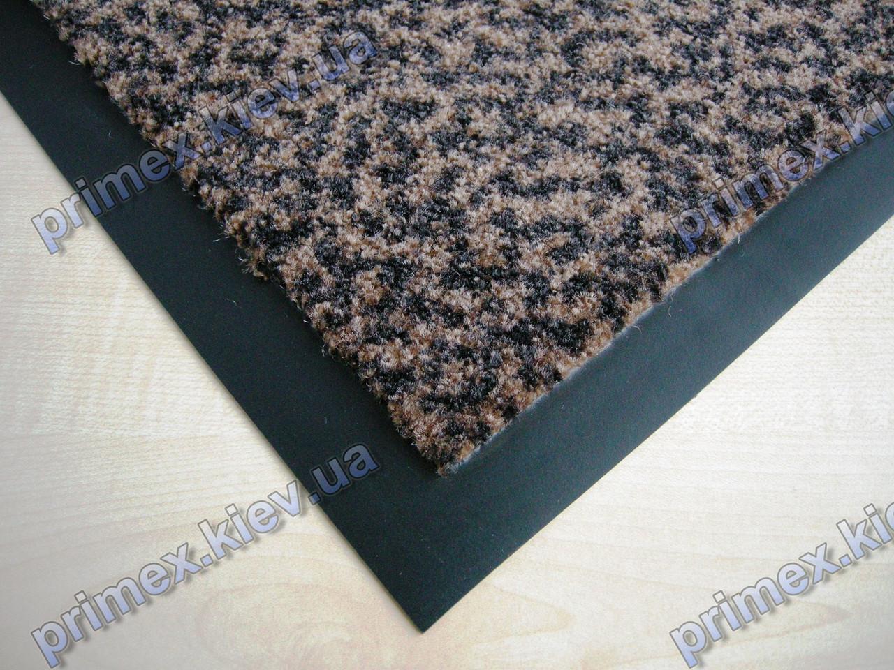 Коврик грязезащитный Гепард, 60х90см., коричневый темный