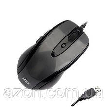 Мышка A4Tech N-708X Glossy Grey