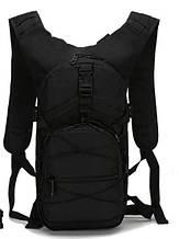 Рюкзак тактичний велосипедний TacticBag B10 чорний, 15 л