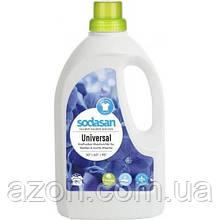 Гель для прання Sodasan Універсальний Bright&White 1.5 л (4019886015615)