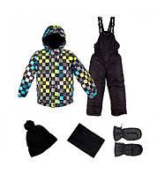 Зимний костюм с аксессуарами Gusti Boutique GWB 4596. Размеры 92 - 152., фото 1