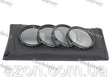 Набор макролинз 52мм Close-up, +1+2+4+10, макро