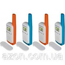 Портативна рація Motorola TALKABOUT T42 Quad Pack (B4P00811MDKMAQ)