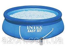 Басейн надувний Intex 28118, 305х61 см, з фільтр-насосом