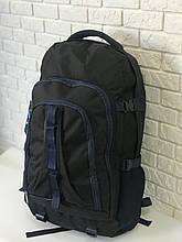 Рюкзак туристичний VA T-02-3 65л, чорний з синім