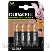 Аккумулятор Duracell AA HR6 2500mAh * 4 (5000394057203 / 5007308)