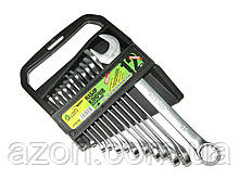 Набір ключів рожково-накидних 12 шт Alloid ПК-2005-12М