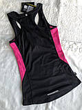 Топ для бігу, спортивна майка чорного кольору бренд з бірками, фото 5