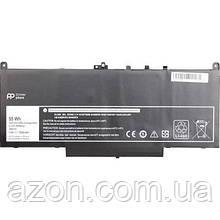 Аккумулятор для ноутбука DELL Latitude E7270 (J60J5) 7.6 V 7200mAh PowerPlant (NB441143)