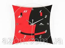 Настенные Часы Красное и Черное