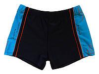 Плавки-шорты для мальчика тёмно-синего цвета, р.38, фото 1