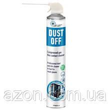 Чистячий стиснене повітря spray duster 750 ml HTA DUST OFF High Tech Aerosol (06051)