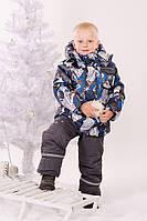 Детская теплая зимняя курточка для мальчика, фото 1