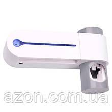 Ультрафіолетовий стерилізатор зубних щіток + дозатор зубної пасти