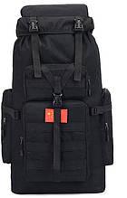 Рюкзак туристичний K1005 85 л, чорний