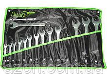 Набір ключів рожково-накидних 14 шт Alloid ПК-2005-14М сумка