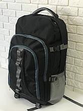 Рюкзак туристичний VA T-02-2 65л, чорний з сірим