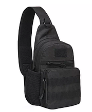 Тактична, штурмова, військова, міська сумка Protector Plus X216 A14, чорна