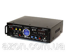 Підсилювач Mega Sound AV-339B 2*500maxx USB MP3 караоке FM