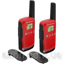 Портативна рація Motorola TALKABOUT T42 Red Twin Pack (B4P00811RDKMAW)