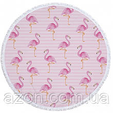 Пляжний килимок Tender Flamingo