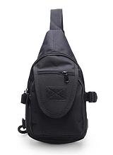 Тактична міська сумка через плече A32, чорна