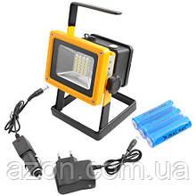 Прожектор светодиодный аккумуляторный портативный 100Вт BL-204