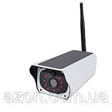 Камера відеоспостереження IP CAMERA CAD F20 2mp solar, біла