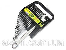 Набір ключів рожково-накидних 12шт Alloid ПК-1061-12 (наб.)