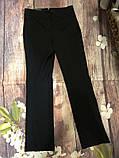 Стильные прямые чёрные брюки классика с бирками LC Waikiki, фото 3