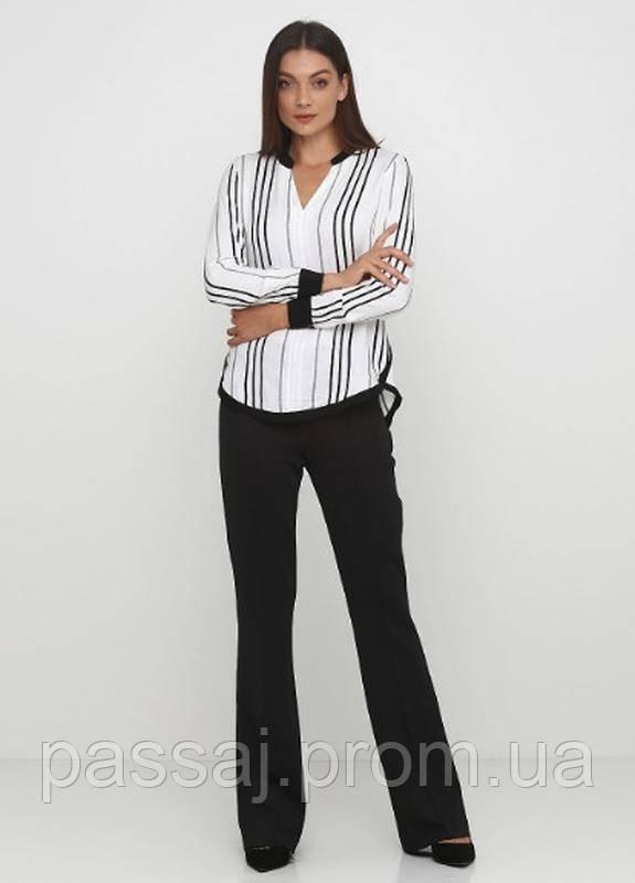 Стильные прямые чёрные брюки классика с бирками LC Waikiki