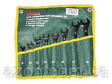 Набір ключів рожково-накидних 8шт KING STD KSR-1-008 сумка (наб.)