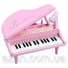 Музыкальная игрушка Baoli пианино-синтезатор Маленький музикант с микрофоном 31 клави (BAO-1504C-P)
