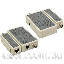 Тестер кабельний RJ-45, RG58 Cablexpert (NCT-1)