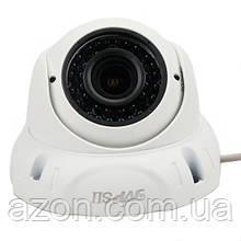 AHD камера відеоспостереження варифокальная 2Мп f2.8-12 ІК TVPSii TP-VC-DW01