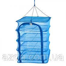 """Сітка для сушіння риби Stenson """"U"""" SF23637 4 яруси, 40х40х60 см"""